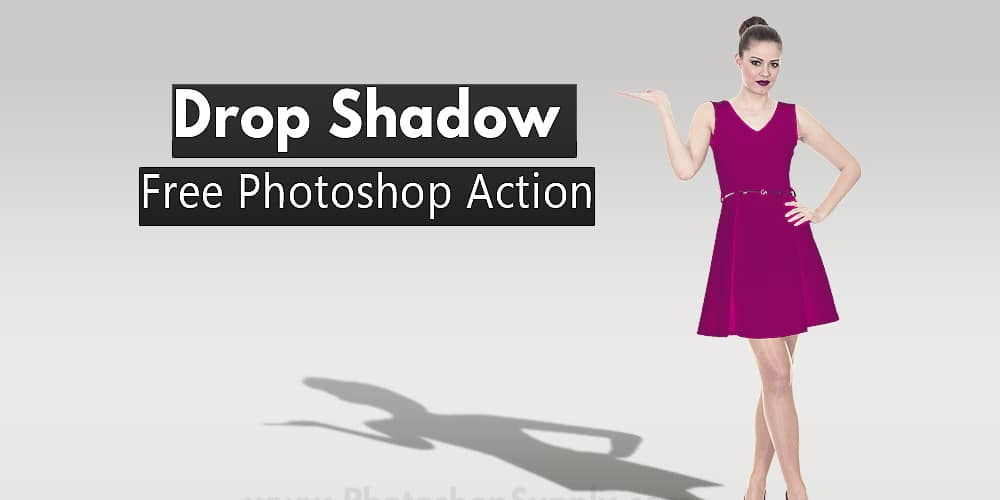 Drop Shadow Photoshop Action
