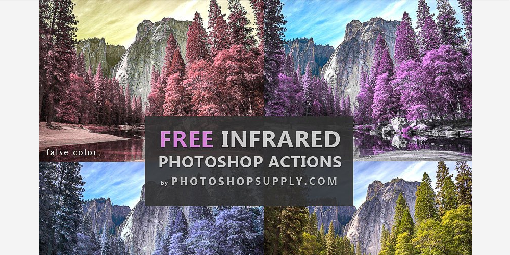 Free Infrared Photoshop Actions