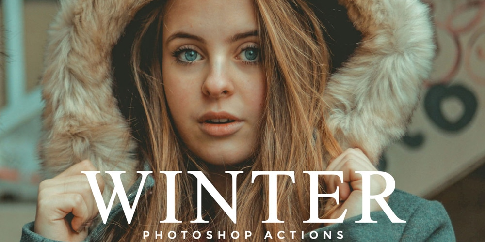 Free Winter Photoshop Actions
