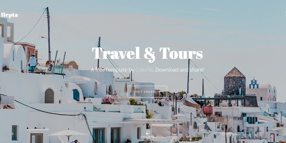 Hepta Travel Business HTML Template