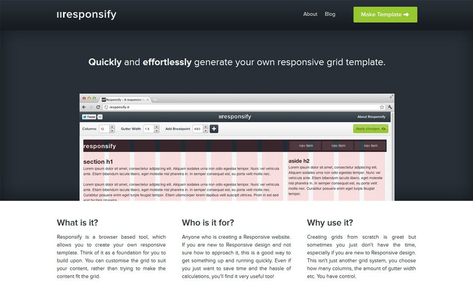 100 Best Grid Systems Tools For Responsive Design
