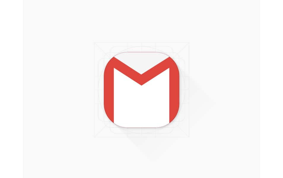 Free Gmail App Icon (Ai)