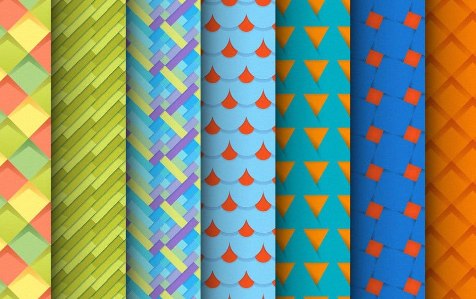 Free New Set of Material Design Patterns
