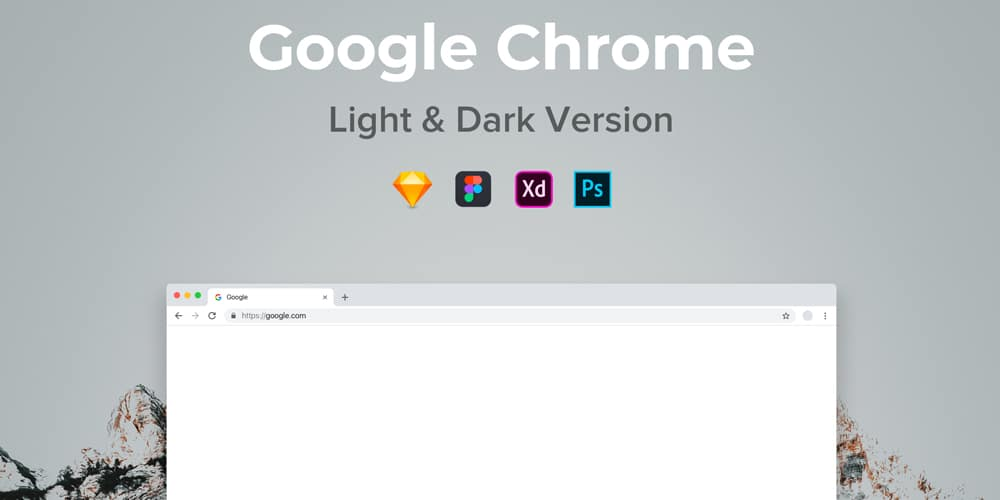 Google Chrome Mockup