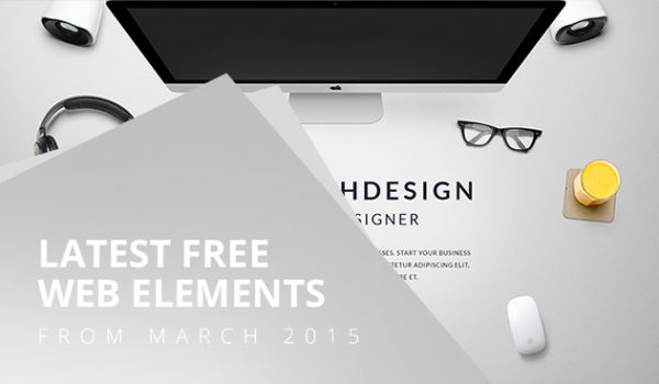 Latest Free Web Elements From March 2015