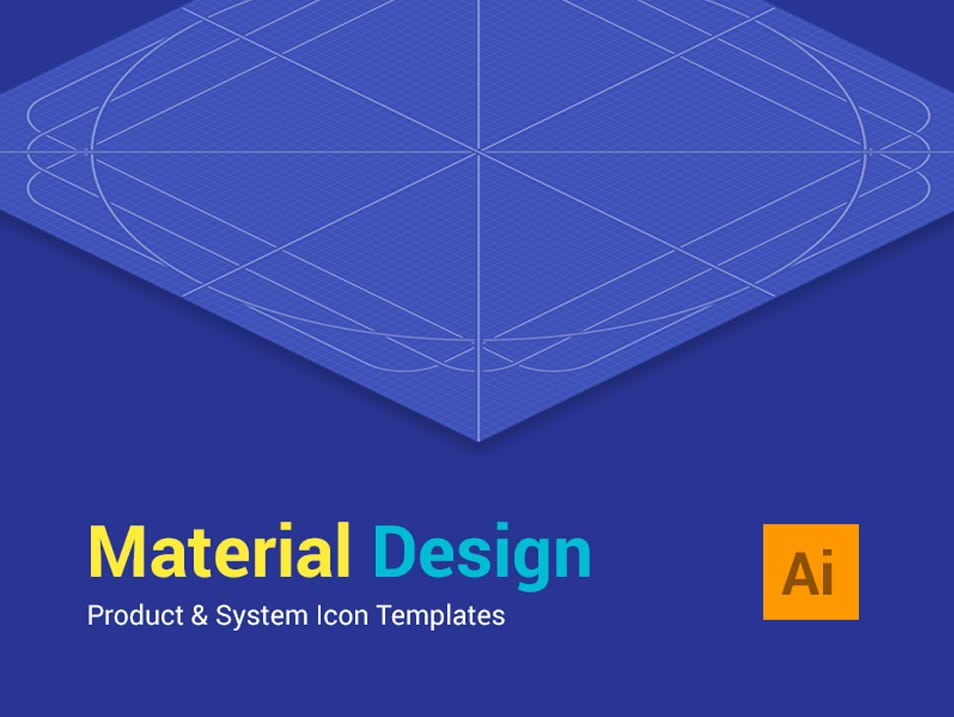 Material Design Icon Templates
