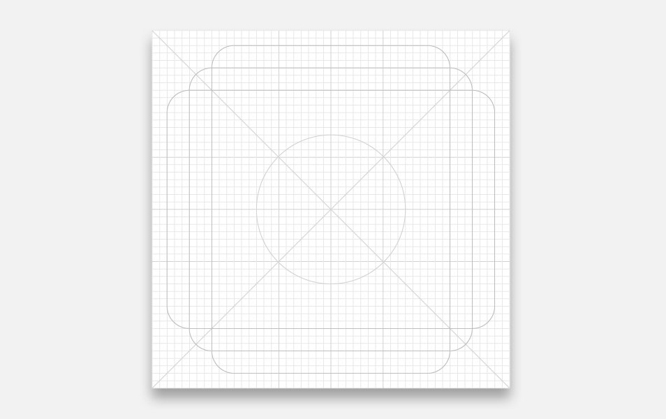 Material Product Icon Grid