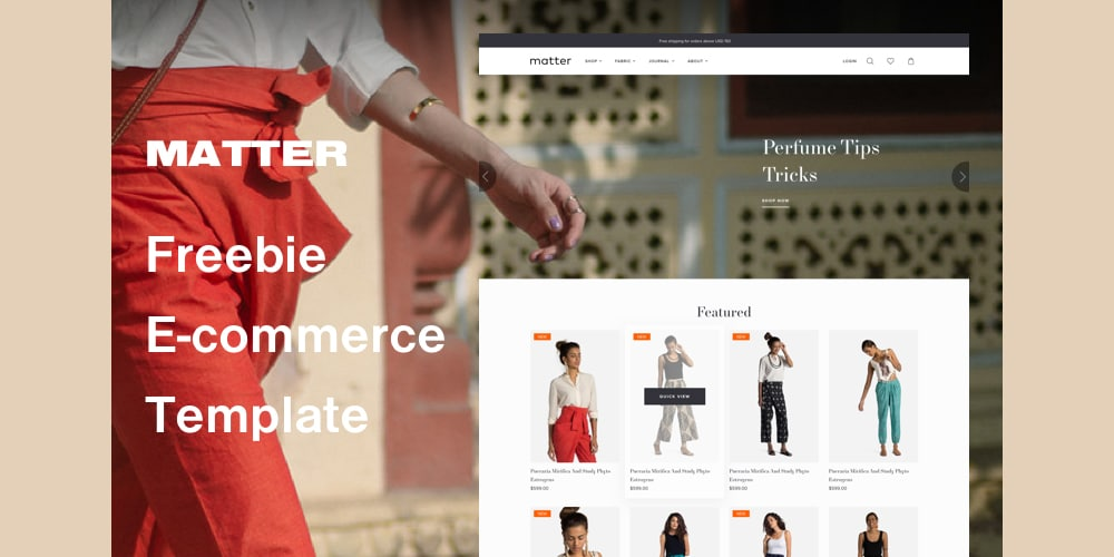 Matter E-Commerce Template