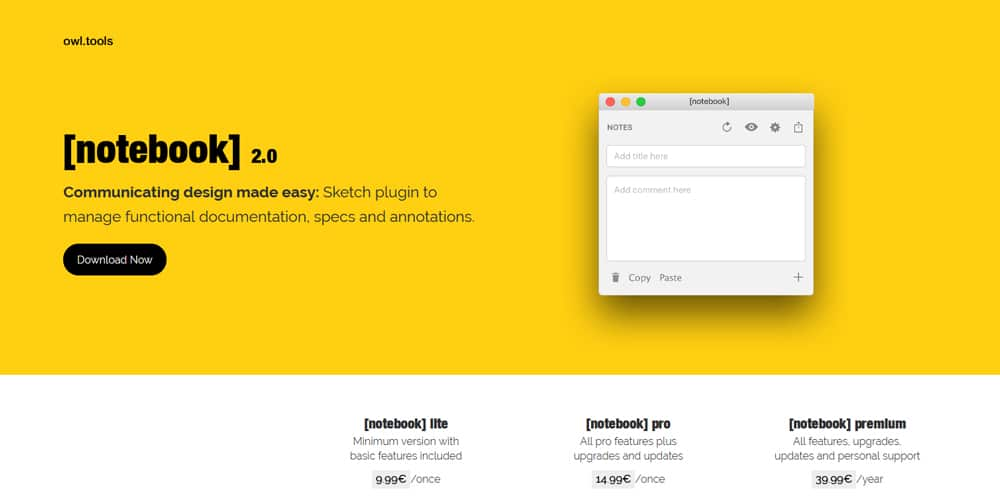 Notebook Sketch Plugin