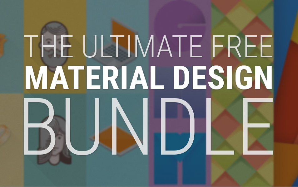Ultimate Material Design Free Bundle