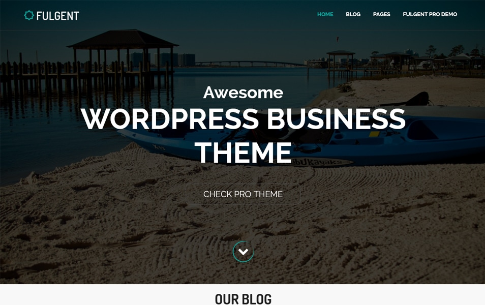 Fulgent Responsive WordPress Theme