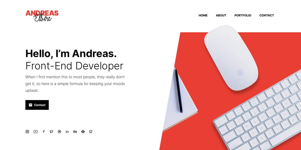 Raditian Hugo Theme for Personal Websites