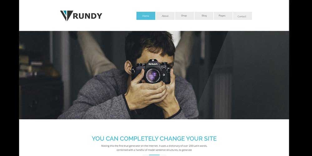 Rundy Free Corporate Website Template