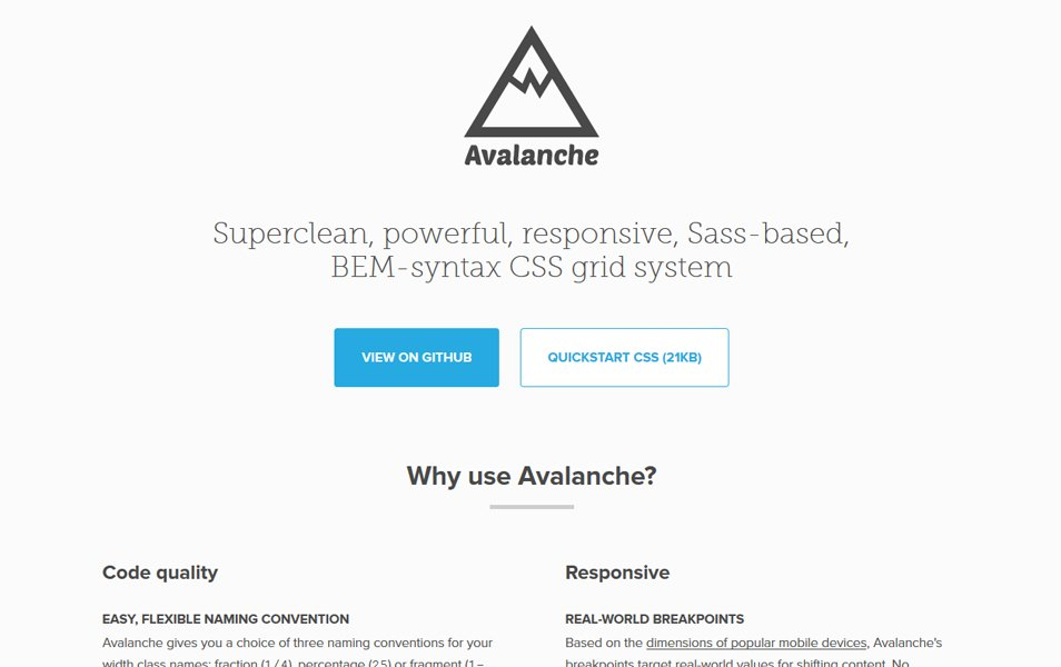 100 best css frameworks for responsive design superclean powerful responsive sass based bem syntax css grid system malvernweather Images