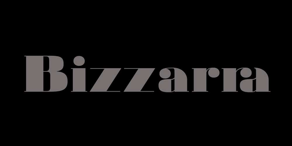 Bizzarra Typeface