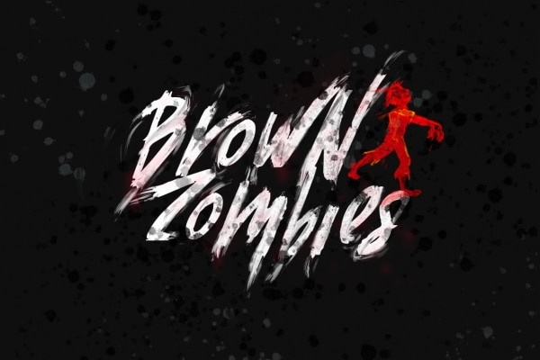 Brown Zombies Font