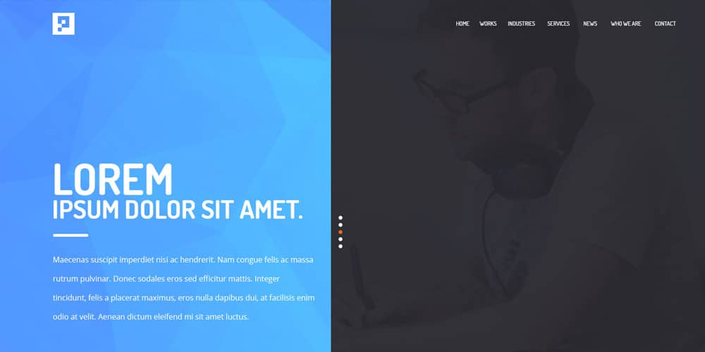 Free Agency Website Templates
