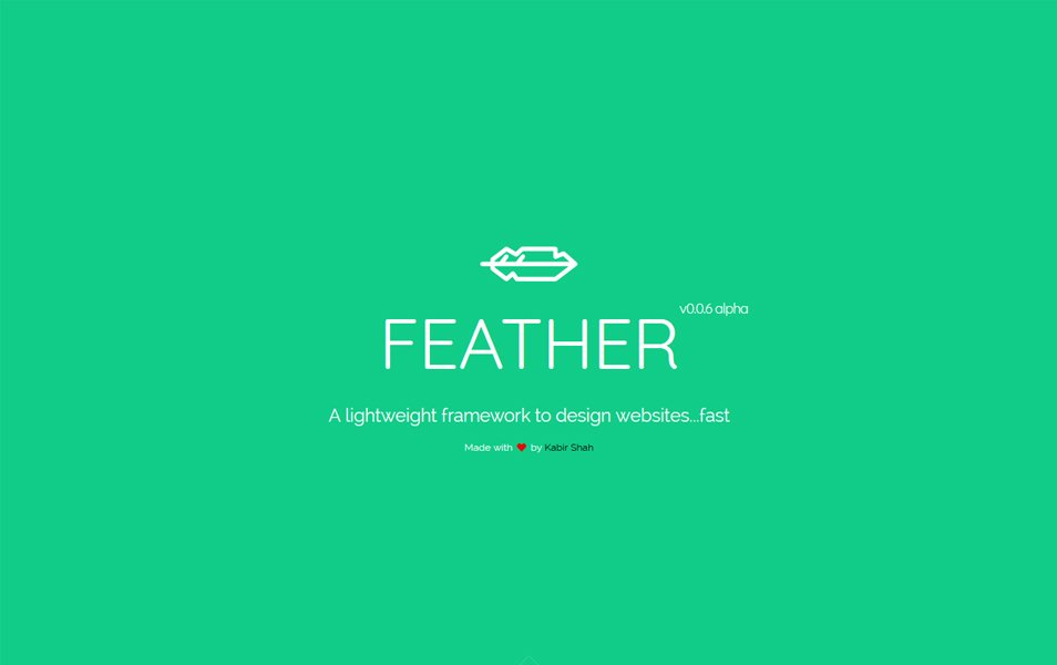Feather CSS framework