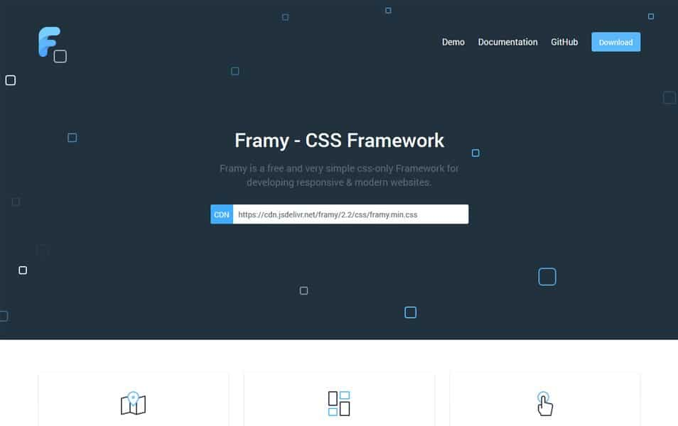 100 best css frameworks for responsive design framy css framework malvernweather Images