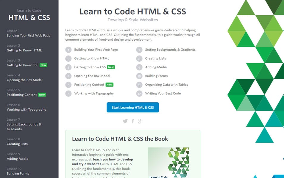 Best websites to learn HTML, CSS and Javascript