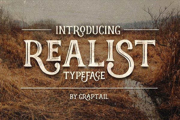 Realist Typeface