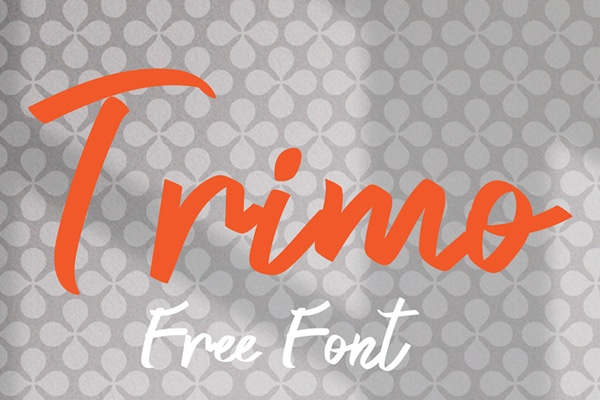 Trimo Font