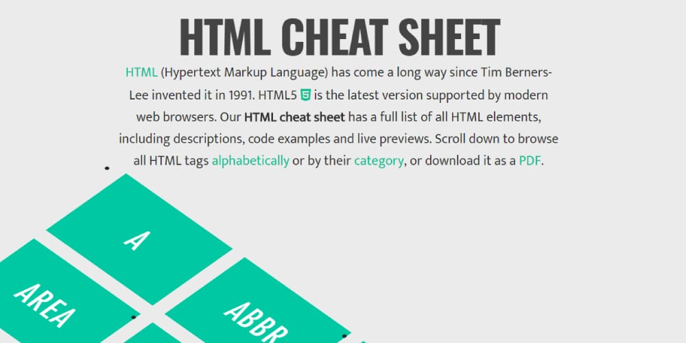 Html5 Tags With Examples Pdf