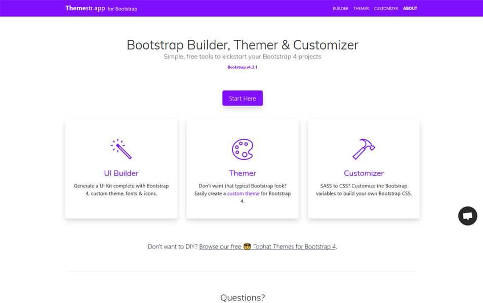 40+ Best Bootstrap Editors & Builders » CSS Author