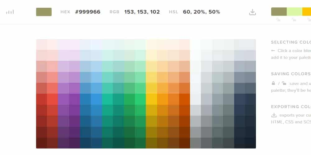 cheat sheet html for color codes
