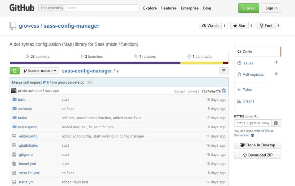 sass-config-manager
