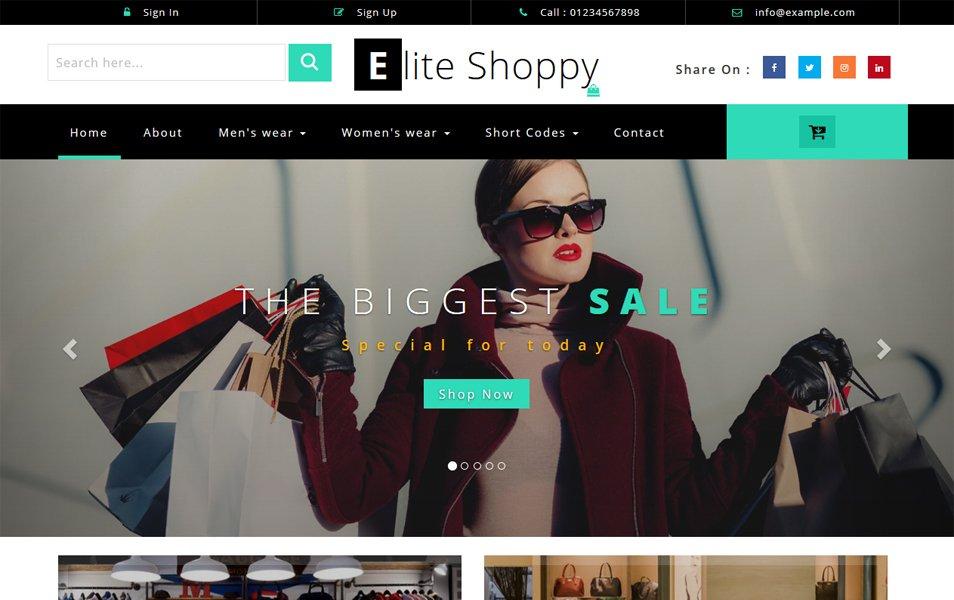 50 Free Responsive Html5 E Commerce Website Templates