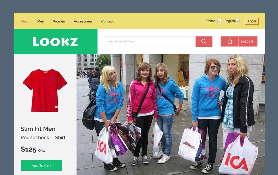 Lookz HTML Template