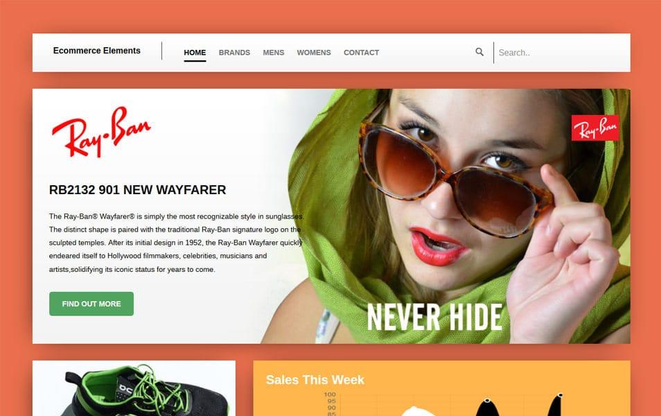 Wayfarer HTML Template