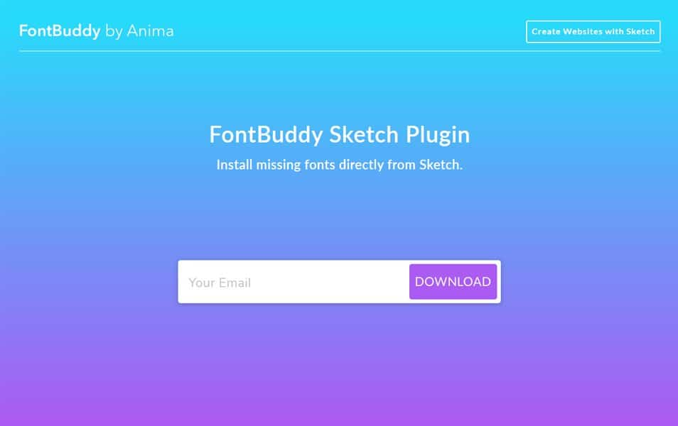 FontBuddy for Sketch
