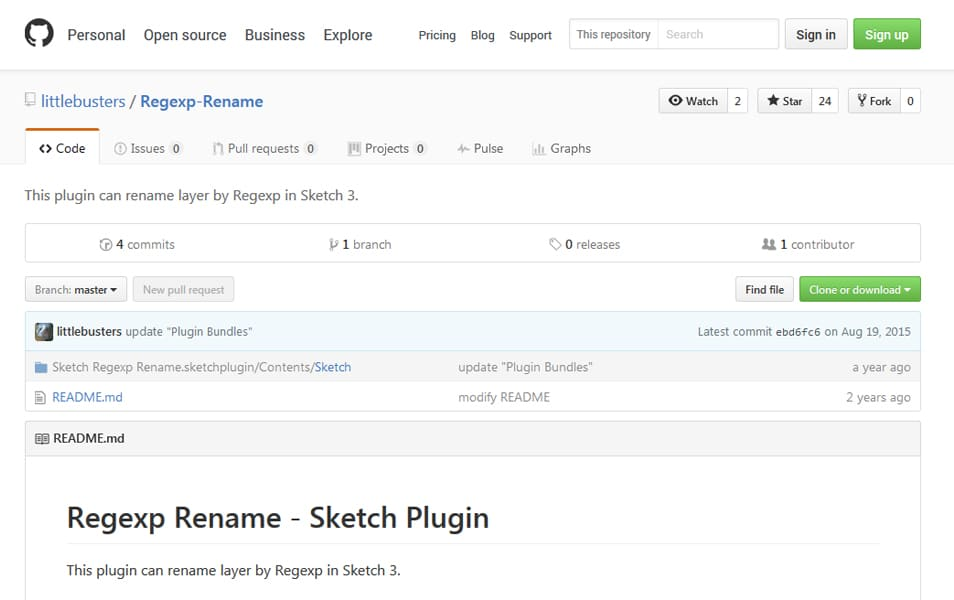 Regexp Rename Sketch Plugin