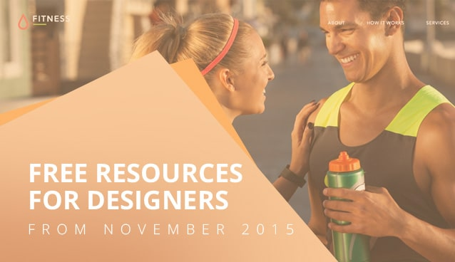 Free Resources For Designers From November 2015