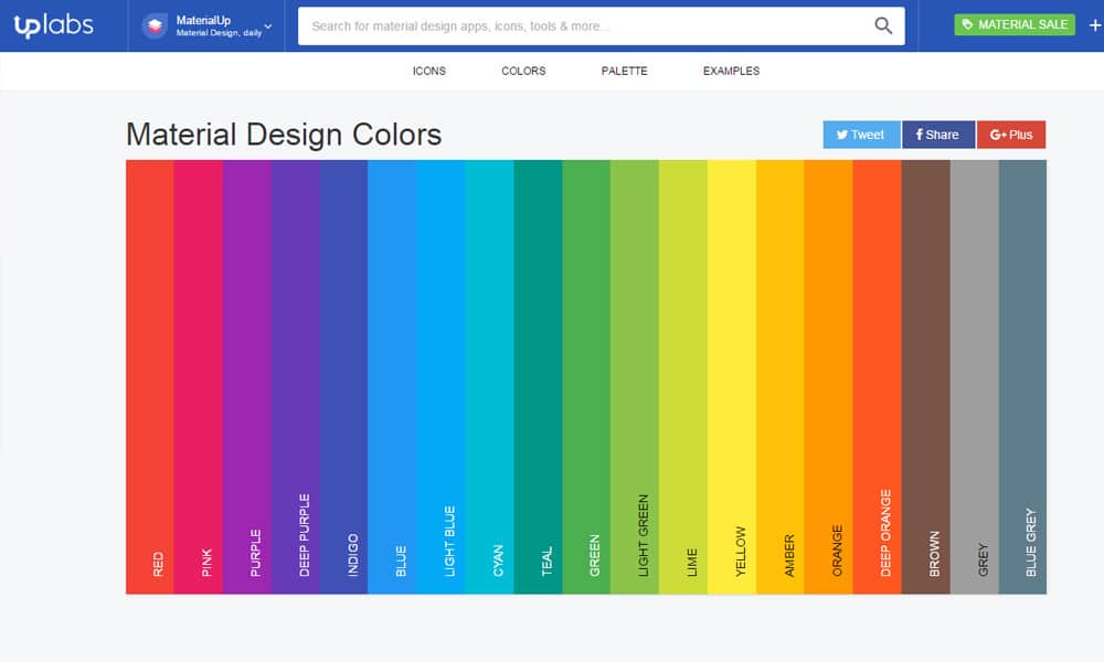 Tools For Generating Material Design Color Palettes » CSS Author