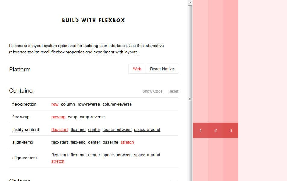 Build with Flexbox