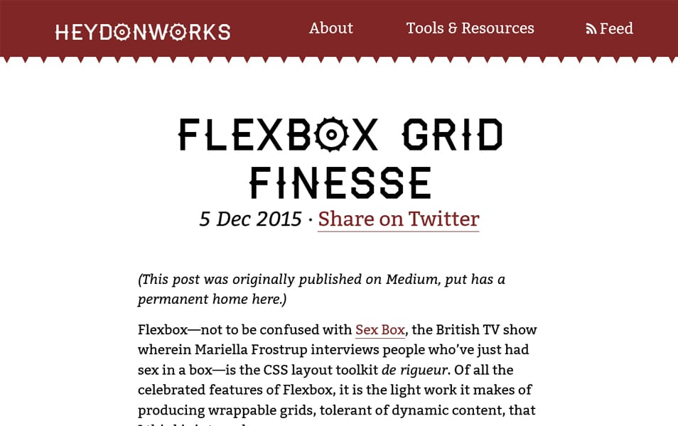 Flexbox Grid Finesse