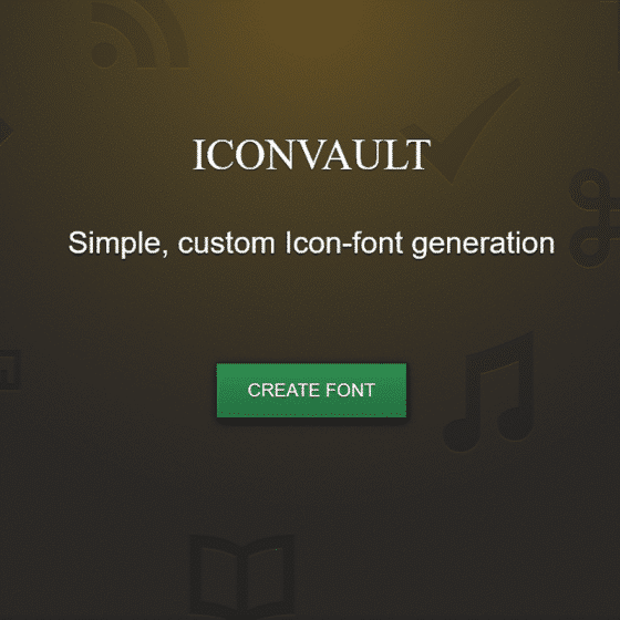 Icon Font Generator and Icon Design Templates