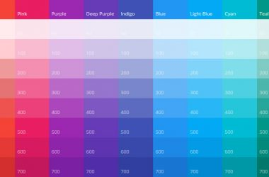 Tools For Generating Material Design Color Palettes