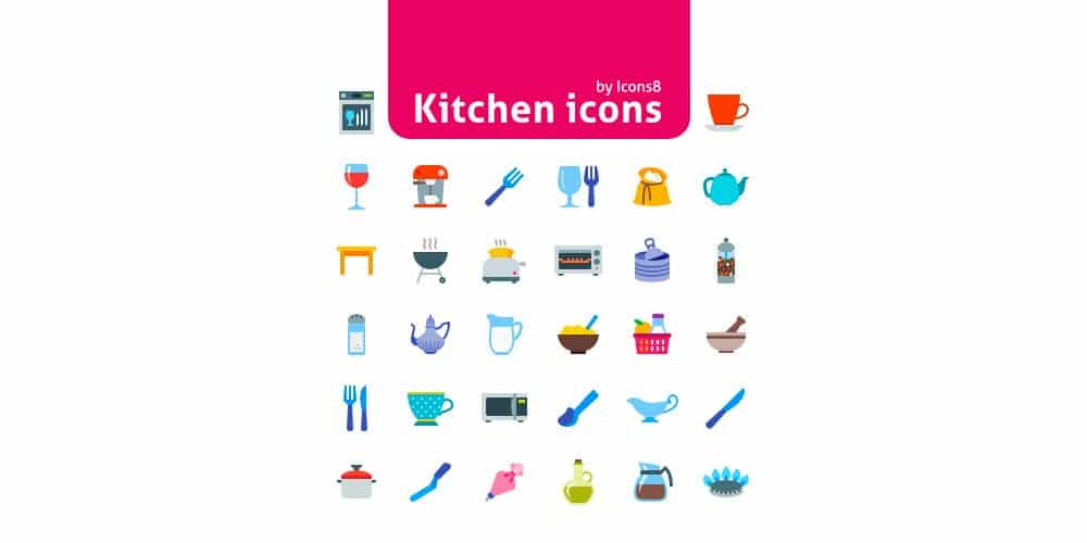 50-Kitchen-Icons