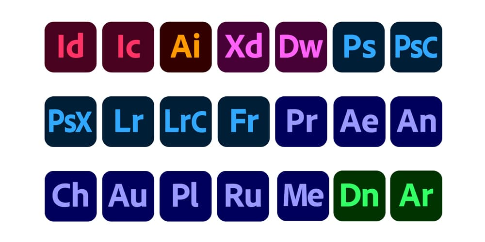 Adobe-CC-Apps-Icons