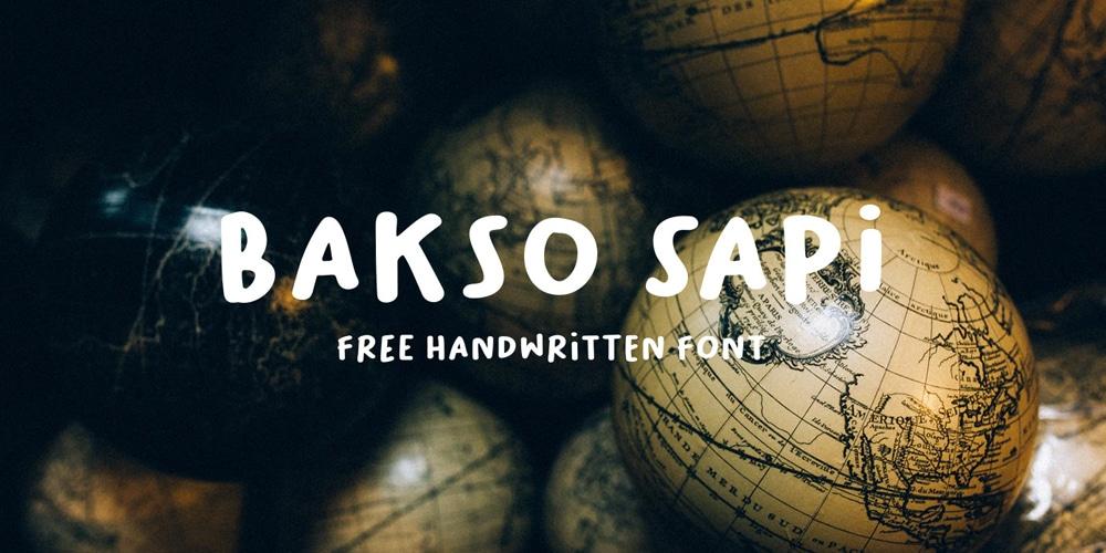 Bakso Sapi Font