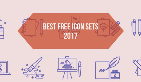 Best Free Icon Sets 2017
