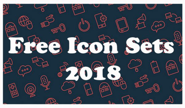 Best Free Icon Sets 2018