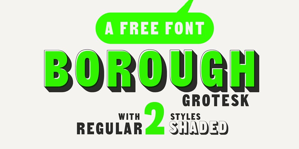 Borough Grotesk