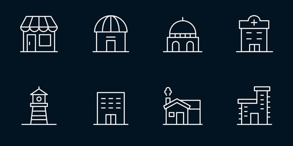 Building-Vector-Icons