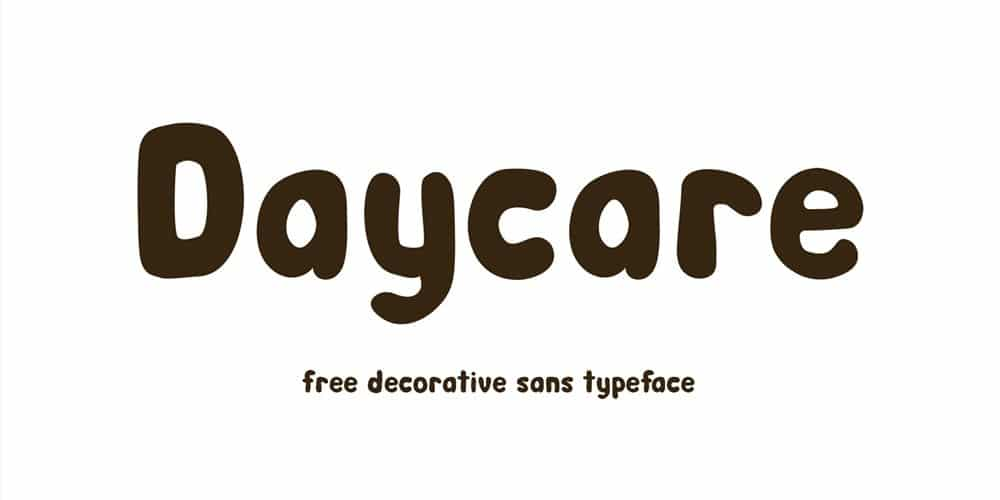 Daycare Typeface