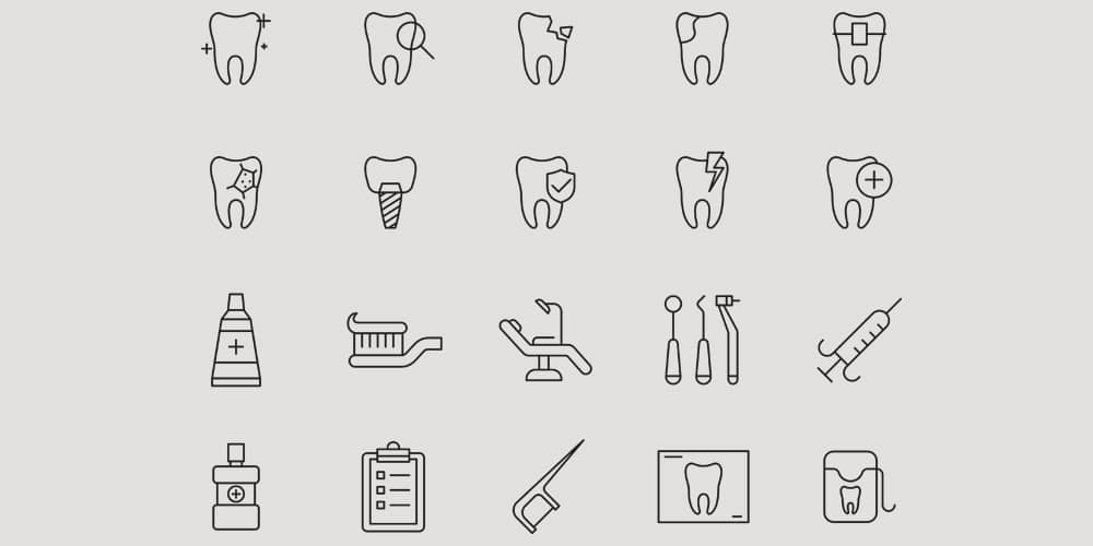 Dental Vector Icons